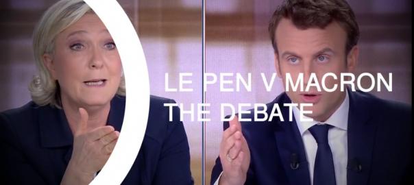 MLP - Macron Debate pic