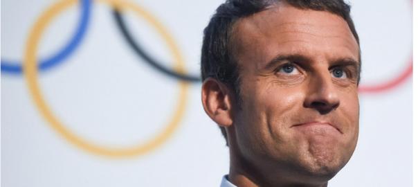 Macron Olympics